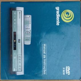 Manual Gradiente Dvd D 30/3c Original