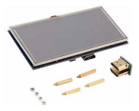 Tela Touch 5 Raspberry Lcd Pi2 Pi3 Modelo B Pronta Entrega
