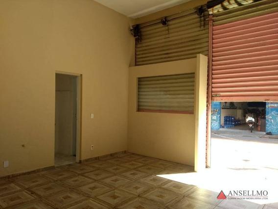 Salão Para Alugar, 40 M² Por R$ 1.500,00/mês - Centro - São Bernardo Do Campo/sp - Sl0326