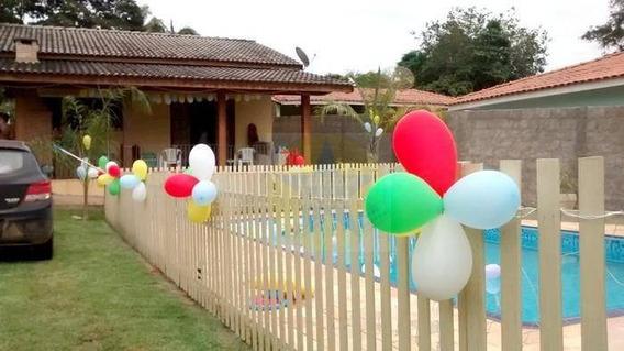 Chácara Residencial À Venda, Jardim Paraíso Da Usina, Atibaia. - Ch1085
