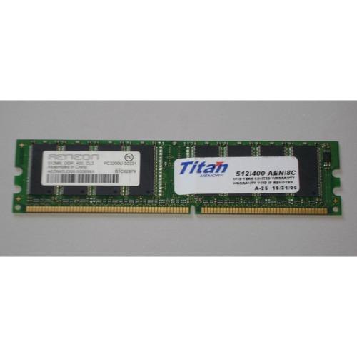 Memoria Ram 512 Mb Ddr400