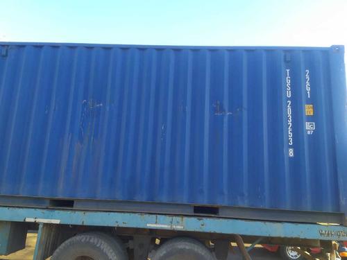 Contenedores Maritimos Usados Containers 20´ Dv - Rojas
