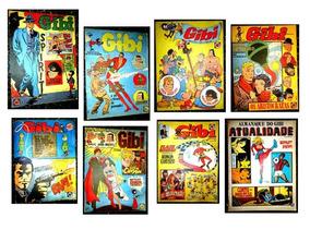 Coleção Da Revista Gibi Antiga Com 8 Números
