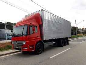 Mb Atego 1518 Truck, 2005, Baú De Alumínio 8,5m!