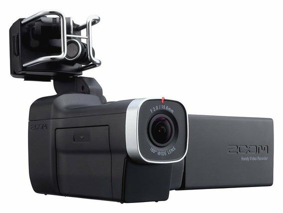Camera Zoom Q8 Gravador Digital De Áudio E Vídeo