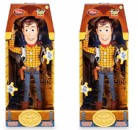 Toy Story Woody (fala 19 Frases) Original Disney (na Caixa)