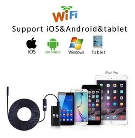 Câmera Inspeção Sonda Endoscópica Wifi Hd 5m Ios/android/pc