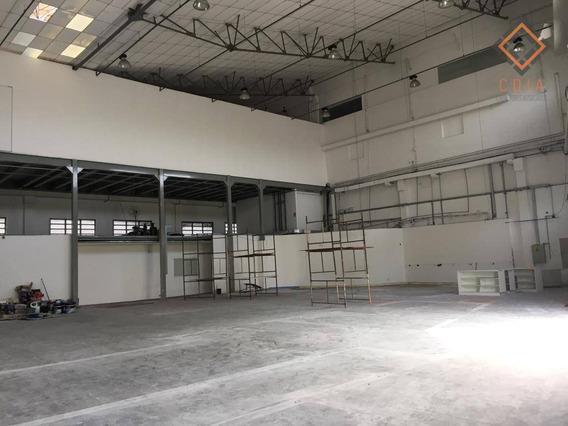 Galpão Para Alugar, 2200 M² Por R$ 80.000/mês - Várzea Da Barra Funda - São Paulo/sp - Ga0495