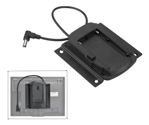 Bateria Adaptador Placa Base Para Monitores De Lilliput Para