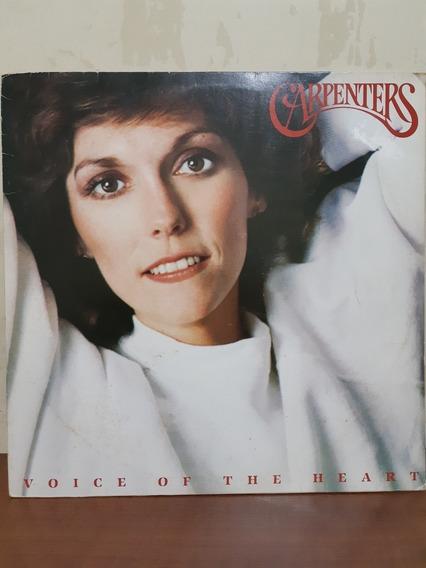 Lp Disco De Vinil Carpenters Voice Of The Heart 1983 N° 10