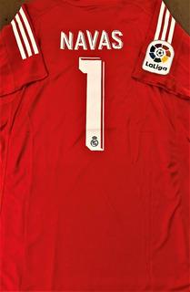 Camisa Do Real Madrid Keylor Navas - Queima De Estoque
