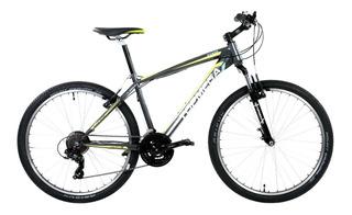 Bicicleta Mountain Topmega Rowen R26 Shimano + Casco O Led