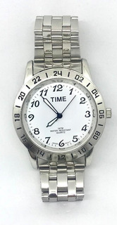 Relojes Time Metal Sumergible 3atm Para Hombre Liniers