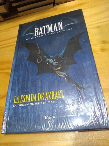 Batman La Espada De Azrael - Historia Y Leyenda #10 - T. D.