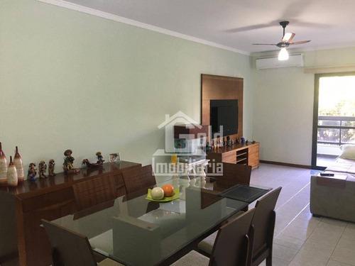 Apartamento Com 3 Dormitórios À Venda, 115 M² Por R$ 350.000,00 - Jardim Irajá - Ribeirão Preto/sp - Ap3430