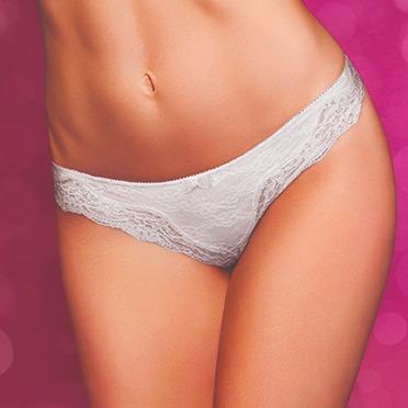 Bombacha Ana Grant Bikini 100% Encaje Art 4812