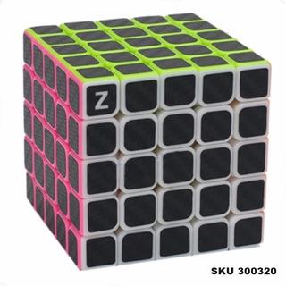 Cubo Rubick 5x5x5 Z-cube Speed Cube Fibra Carbono W03
