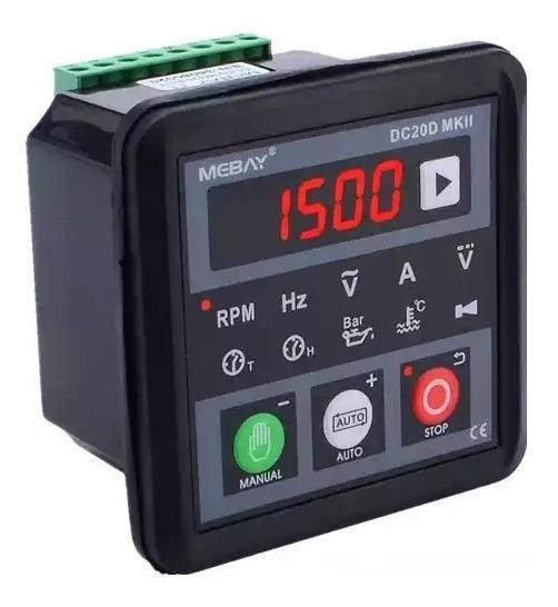 Controlador Gerador Diesel Transferência Automática Rs-485
