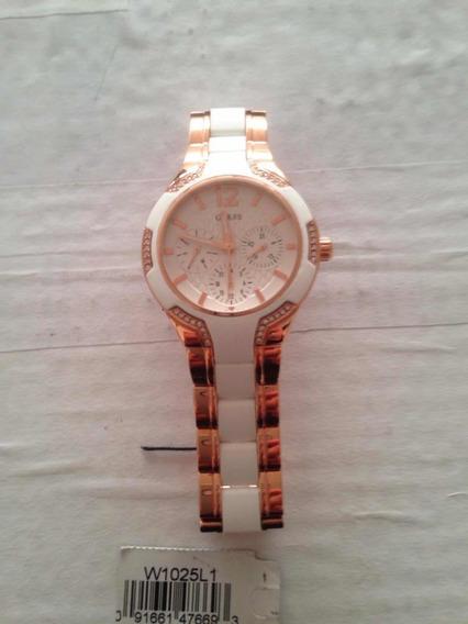 Relógio Feminino Branco Guess ( Original)
