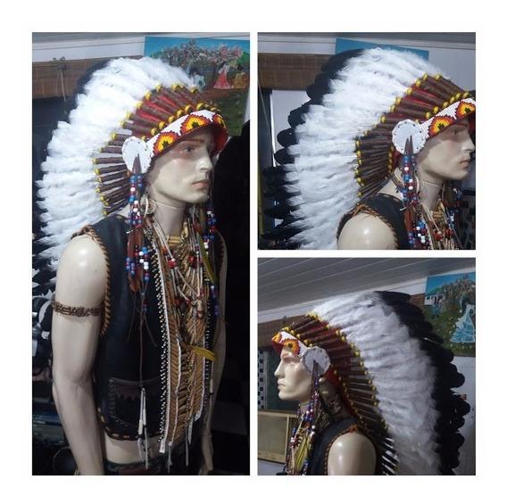 Penacho Cocar Indígena Xamanismo