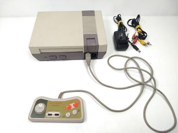 Video Game Nintendo Nes Nintendinho + Controle E Fonte Retro