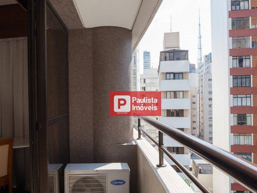 Flat Com 1 Dormitório À Venda, 36 M² Por R$ 460.000,00 - Paraíso - São Paulo/sp - Fl0205