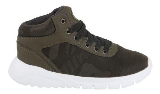 Tenis Casual Verde Tipo Bota Urban Shoes Lack Urb 820989
