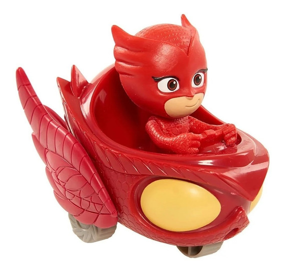 Pj Masks Figura Fija Vehiculo 24630 Heroes En Pijamas Edu