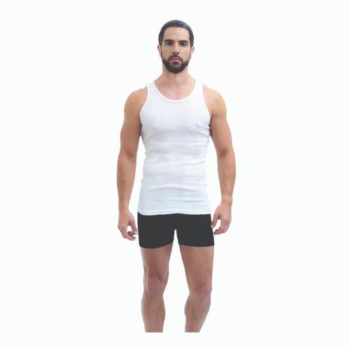 Imagen 1 de 2 de Playboy Camiseta Interior Para Hombre Pack De 6