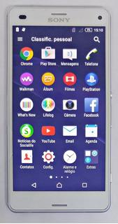 Sony Xperia Z3 Compact D5833 Branco Sem Garantia Com Defeito