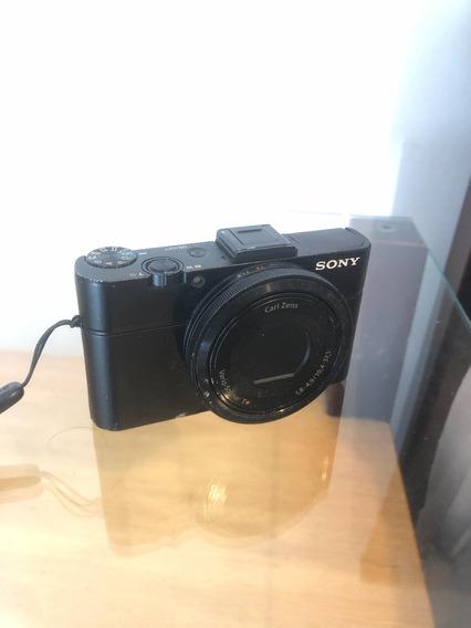 Sony Rx100ii Funcionando Porem Com Defeitos.