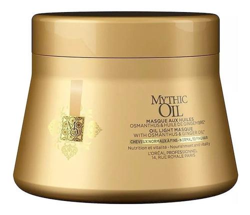 Loreal Mythic Oil Máscara Cabello Fino 200ml