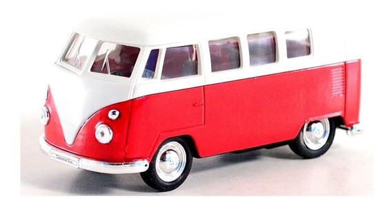 Volkswagen Classical Bus 1962 Combi Welly Escala 1:36