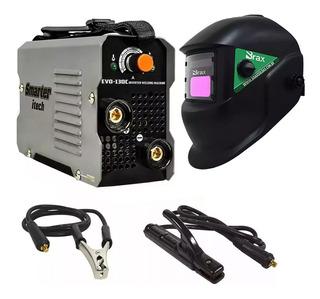 Maquina Inversora De Solda Mini Evo 130c Smarter + Máscara