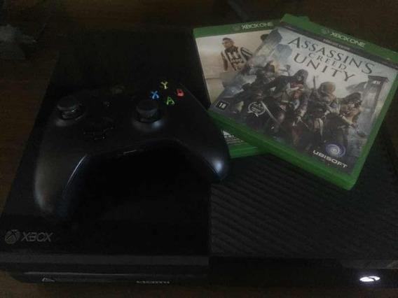 Console Xbox One 500gb + 2 Jogos + 1 Controle