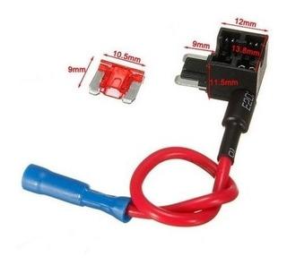 Porta Fusible Micro Seguridad Adaptador 12v 10a