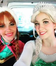 Show Frozen! Animaciones- Elsa Y Ana En Tu Cumpleaños!!