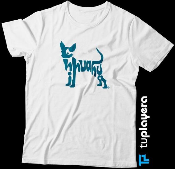 Chihuahueño Chihuahua Playera Blanca Perro Letras