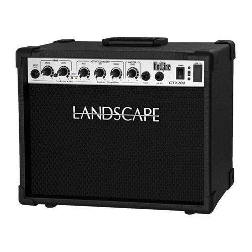 Amplificador De Guitarra Landscape Cubo Gtx200 Bivolt