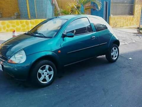 Ford Ká Gl Image Verde Ano 2000