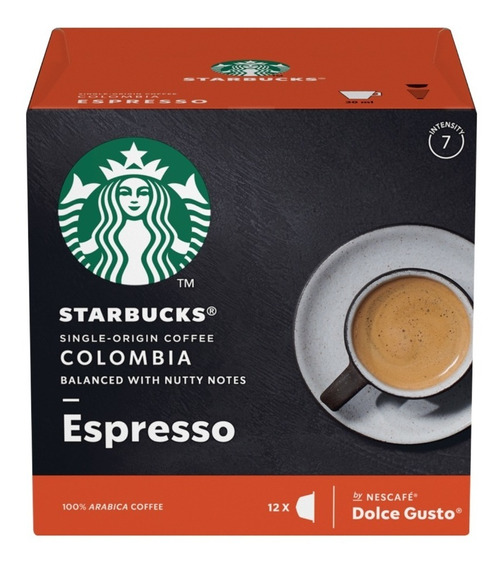 Starbucks Espresso Colombia Cápsulas Dolce Gusto Oficial