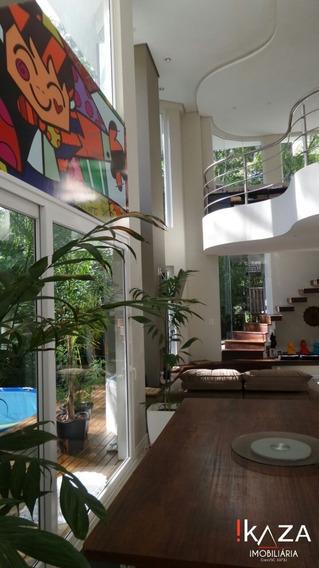 Casa Alto Padrão Mobiliada - Condomínio Fechado No Itacorubi - 3216