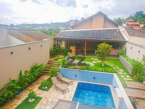 Excelente Casa Com 4 Quartos À Venda, 297 M² Por R$ 1.600.000 - Vila Gardênia - Atibaia/sp - Ca13382