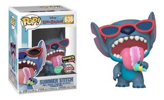 Funko Pop! Lilo & Stitch Summer Stitch 636 Saharis Exclusive