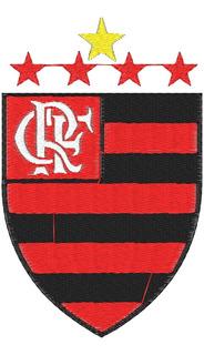 Matriz De Bordado Esculd C. De R. Do Flamengo Com Estrela