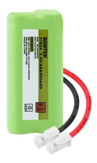 Bateria 2,4v 600mah Aaa Conector Universal 31624