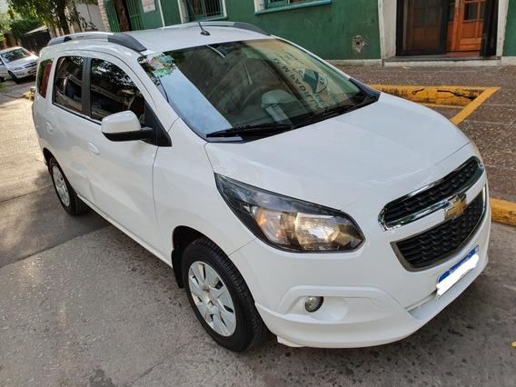 Chevrolet Spin 1.8 Lt 1 Dueño Gnc