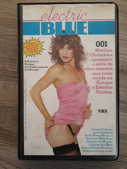Fita Vhs Antiga Eletric Blue 001 - 1* Erótica Brasil 1981