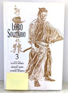 Hq Mangá Gibi Novo Lobo Solitário Vol 3 Koike Panini