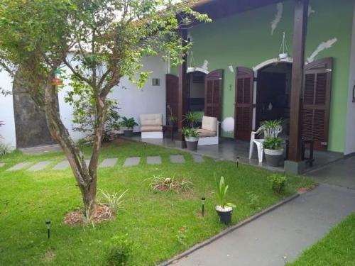 Casa A 40 Metros Do Mar Em Itanhaem Ref 7940